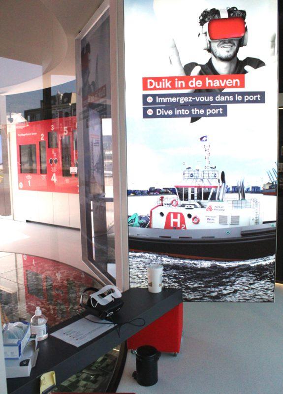 Antwerpse haven in VR