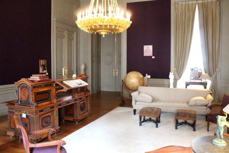 Salon van de Maarschalken Paleis Brussel