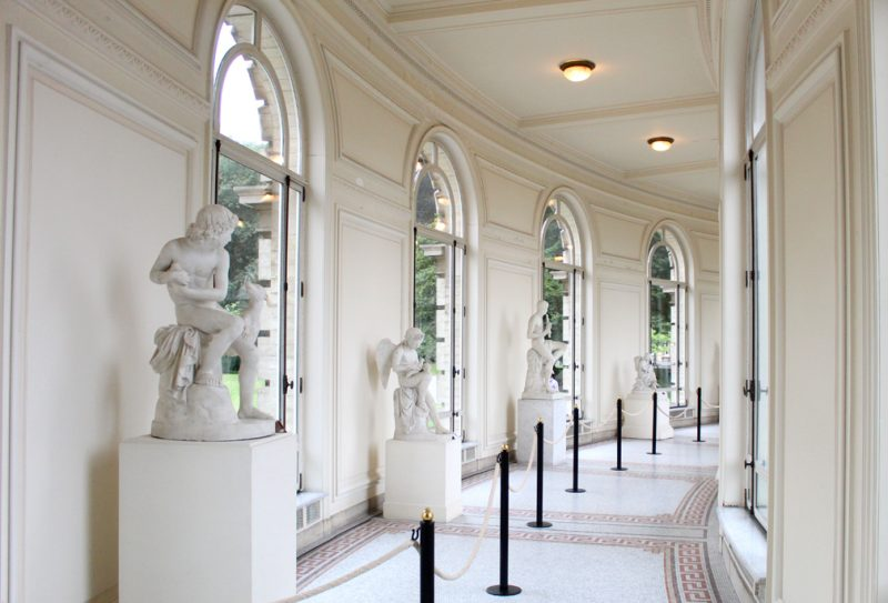Halfronde Galerij Paleis Brussel