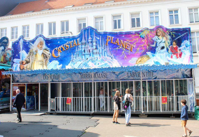 Crystal Planet Kermis Leuven