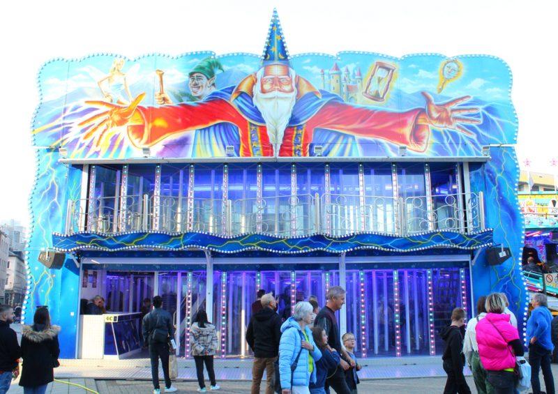 Magic World glazen doolhof